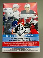 2019-20 Upper Deck SP Hockey Factory Sealed Blaster Box