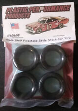 Plastic Performance Products #6569F 1965-69 Firestone Style Stock Car Tires