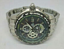 Mens Casio Edifice Stainless Steel Chronograph Watch EF-543