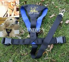 New Car Vehicle Auto Seat Safety Belt Seatbelt for Dog Pet Puppy Black Trumpet