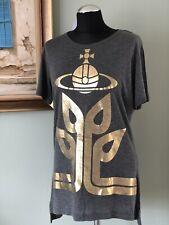 NEW V.Westwood limited Edition Orb/Logo TShirt BNWT viscose/cashmere Italy Lar