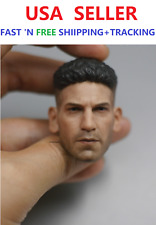 CUSTOM 1/6 Scale Jon Bernthal Punisher Frank Castle Head Sculpt for 12'' figure