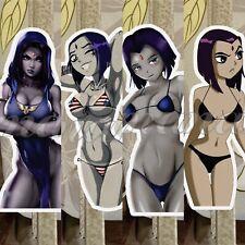 Teen Titans Raven Anime Sticker Decal ecchi sexy pin up bikini sun fun #1-4