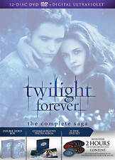 Twilight Forever: The Complete Saga [DVD + Digital] New, Free shipping