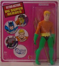 "Aquaman Retro-Action DC Super Heroes 8"" Figure ""Mego"" Mattel Justice League"