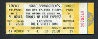 Bruce Springsteen 1988 Tunnel Of Love Unused Full Concert Ticket St. Louis MO