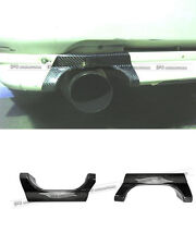 New Rear Bumper Exhaust Heat Shield For Mitsubishi EVO 5 6 CP9A Carbon Fiber