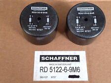 2x Schaffner 6a Choke-rd5122-6-9m6 - Rd Choke 9727 Radial