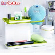 NEW Caddy Organizer Kitchen Sink Rack Soap Drainer Sponge Holder Bathroom Tools