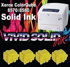 Xerox ColorQube 8570 / 8580 Compatible Yellow Ink  Qty-4