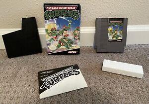 Teenage Mutant Ninja Turtles (Nintendo NES) Complete in Box - Tested and works!