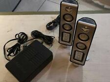 Philips Desktop/Multi Media Speakers MODEL:MMS321/17 120V