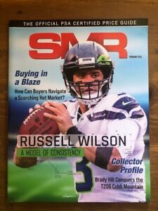 February 2021 SMR OFFICIAL PSA CERTIFIED PRICE GUIDE - RUSSELL WILSON