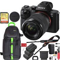 Sony Alpha a7 II Mirrorless Camera 28-70mm Lens 128GB Extra 2x Battery Bundle