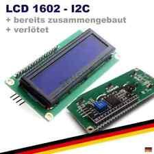 LCD 1602 + I2C HD44780 Modul VERLÖTET Display Anzeige Arduino Raspberry