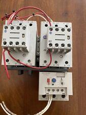 Allen Bradley 100-C85 Reversing Contactor With Overload Block