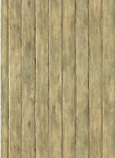 Distressed Bead Board Wallpaper  FK3892   Priced per Double Roll