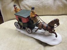 DEPARTMENT 56 DOVER COACH HERITAGE  DICKENS VILLAGE 6590-0 W/ ORIGINAL BOX