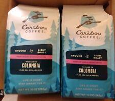 Caribou Coffee, Passage to Columbia, 10 oz., 3 Bags, Light Roast, Ground