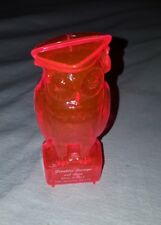 Vintage Owl Piggy Bank Franklin Savings and Loan Plastic Piggy Bank