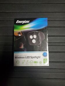 Battery Operated Motion Sensor Activated Spot Security Light Wireless LED Power