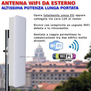 Antenna WiFi esterno alta potenza ripetitore amplificatore wireless,lan router