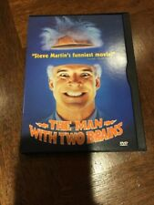 The Man With Two Brains (DVD, 1999) LIKE NEW