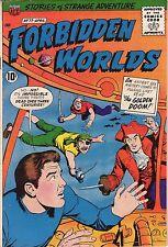 Forbidden Worlds #77 - Underwater Pirates - 1959 (7.0) Wh