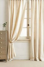 """Anthropologie Embroidered Gretta Curtain 1 Panel Only 50"""" x 84"""""""