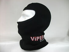 KIDS VIPER RIDER MOTORCYCLE MOTORBIKE WARM THERMAL BLACK BALACLAVA 8/10yrs  NEW