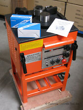 """CCT Electric Rebar Bender with Metal Stand RB-258A for upto 1"""" #8 Rebar -NEW"""