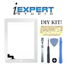 NEW Original for iPad 2 White Digitizer Touch Screen Glass Replacement TOOLS
