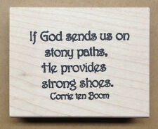 Mounted Rubber Stamps, Christian Stamps, Bible Verses & Inspirational Quotes
