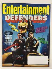Entertainment Weekly Magazine 1/20/2017 Defenders Daredevil Iron Fist Cage Jones
