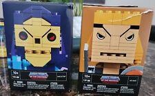 Kubros Master of the Universe Mega Blocks Lot of 2/ He-man & Skeletor