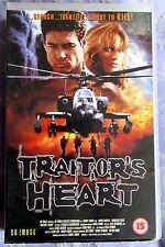 TRAITOR'S HEART BIG BOX EX RENTAL VHS PAL NU IMAGE Bryan Genesse Kimberley Kates