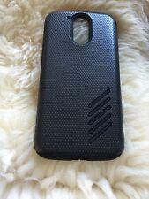 Orzly Grip-Pro protectora caso cubierta para Motorola Moto G4 & Moto G4 Negro Plus