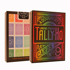 Tally Ho Spectrum Playing Cards - Rainbow Tally Ho Card Deck - Premium Cards
