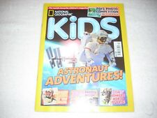 National Geographic Kids Magazine Issue 117 October 2015 Astronaut Adventures