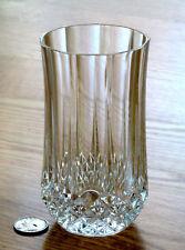 Cristal d'Arques LONGCHAMP 24% lead crystal ICE TEA TUMBLER glass FRANCE 10oz