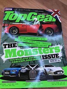 TOP GEAR UK CAR magazine JUNE 2010 ONE 77 GALIBIER RS5 GTO R8 ELISE SVT X5 Z4