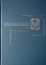 "Book in Ukrainian / in English ""The Postal Stamps of Ukraine 2011"" - WITH STAMPS"