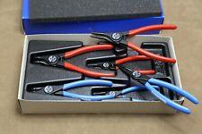Gedore 1500 ES-8000 6x Zangen für Sicherungsringe in 1/3 Werkzeugmodul