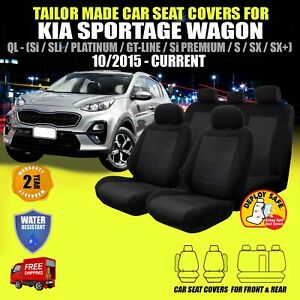 Car Seat Covers Fit KIA SPORTAGE QL Front & Rear 10/2015-Current Airbag Safe