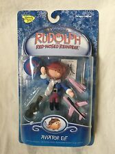 Rudolph the Red-Nosed Reindeer Aviator Elf Figure