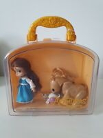 Animators Collection Mini Doll Playset Belle Disney Store Toy Beauty & The Beast