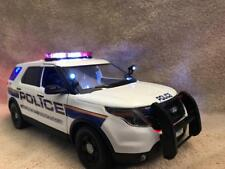1/18 SCALE NY MTA POLICE DIECAST FORD EXPLORER SUV UT WITH WORKING LIGHTS/SIREN
