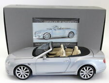 Paragon 1/18 Scale PA-98231 Bentley Continental GT Convertible 2016 Frost Silver