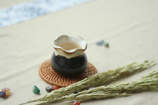 "Pack of 4  2.5"" Ceramic Flowing glaze Sucuulent Plant Flower Pot Simple Design"