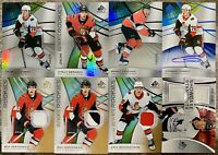 2019-20 SP GAME USED 8x SENATORS JERSEY AUTO LOT VERONNEAU BRANNSTROM TKACHUK